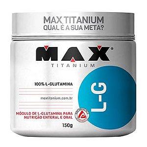Glutamina Lg 150G Max Titanium
