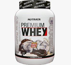 Whey Premium 900G Cookies Cream Nutrata