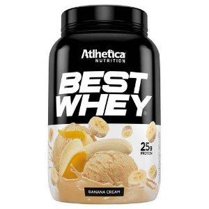 Best Whey 900G Ban Cream Atlhetica Nutrition