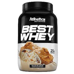 Best Whey 900G Doce De Leite Atlhetica Nutrition