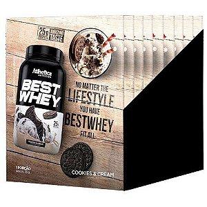 Best Whey Cookies Cream 15Sac X 35G Atlhetica Nutrition