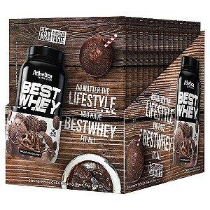 Best Whey Brigadeiro Gourmet 15Sac X 40G Atlhetica Nutrition