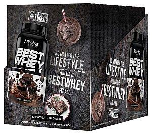 Best Whey Brownie Choc 15Sac X 40G Atlhetica Nutrition