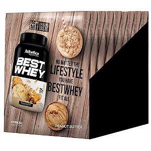 Best Whey Manteiga De Amendoim 15Sac X 40G Atlhetica Nutrition