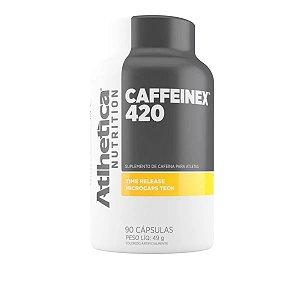 Caffeinex 90 Cápsulas 420mg Atlhetica Nutrition