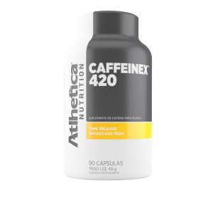 Caffeinex 60 Cápsulas 210mg Atlhetica Nutrition