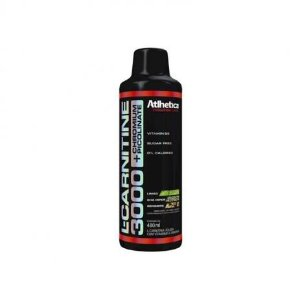 L-Carnitine 3000 480Ml Limao Cha Verde/Gengibre Atlhetica Nutrition