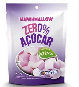 Marshmallow Florestal Zero Acuc 70G Flopi