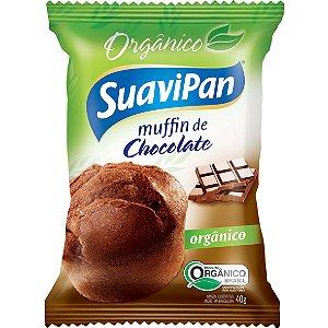 Muffin Choc Organico 40G X Display 12Un Suavipan