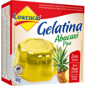 Gelat Abacaxi 10G Lowcucar