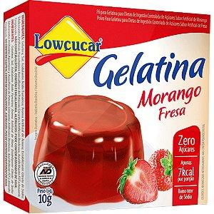 Gelat Morango 10G Lowcucar