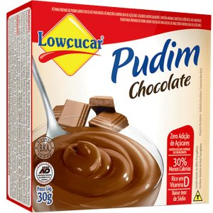 Pudim Chocolate Zero Acuc 30G Lowcucar