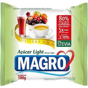 Açúcar Light Magro C/ Stevia 500G Magro