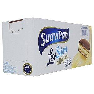 Alfajor Chocolate Branco 12Un X 25G SuaviPan