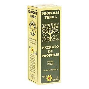 Extrato De Propolis Verde 30Ml Apisflora
