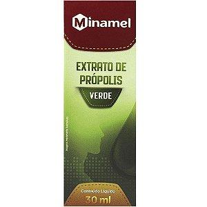 Extrato De Propolis Verde 30Ml Minamel