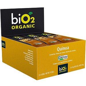Barra Cereal Organico Quinoa 12Un X 25G Bio2 Organic