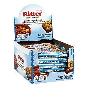 Barra Cereal Avela/Cast/Choc 25G 24Un Ritter