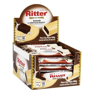 Barra Cereal Brownie Choc Branco 20G 24Un Ritter