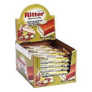 Barra Cereal Limao/Choc Light 25G 24Un Ritter
