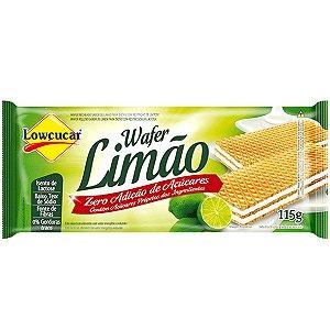 Wafer Limao Zero Acucar 115G Lowcucar