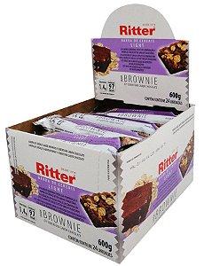 Barra Cereal Light Brownie Choc 25G 24Un Ritter