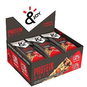 Barra Protein Nuts Cranberry/ Amaranto 12 Und X 35G Ejoy