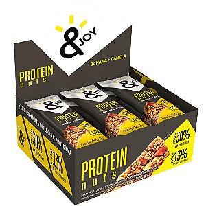 Barra Protein Nuts Banana/Canela 12 Und X 35G Ejoy