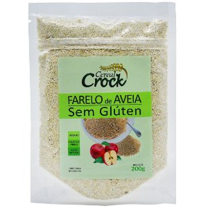 Farelo De Aveia S/Gluten 200G Leve Crock