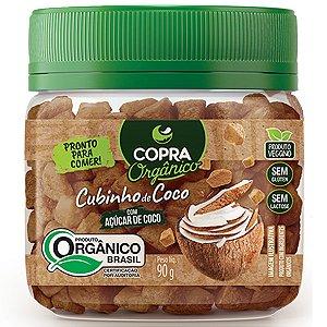 Cubinhos De Coco Organico 90G Copra