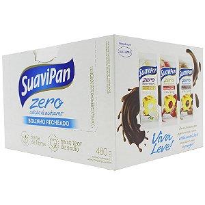 Bolinho Chocolate Recheio Chocolate 12Un X 40G SuaviPan