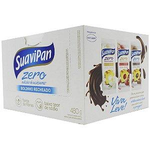 Bolinho Cenoura Recheio Chocolate 12Un X 40G SuaviPan