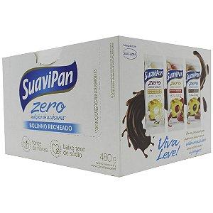 Bolinho Chocolate Recheio Baunilha 12Un X 40G SuaviPan