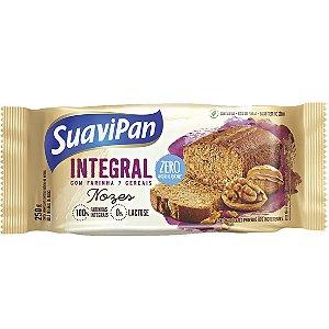 Bolo Integral Zero Açúcar Nozes 250G SuaviPan