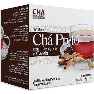 Cha Preto/Gengibre/Canela 10Env 12G Cha Mais