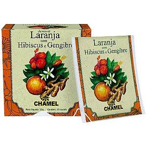 Laranja/Hibiscus/Gengibre 10Env 15G Chamel