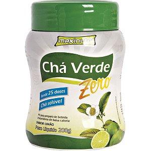 Cha Verde Soluvel Zero Limao 250G Maxinutri