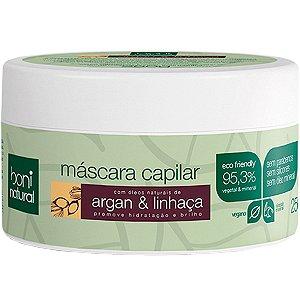MASCARA CAPILAR ARGAN/LINHACA 250G BONI NATURAL