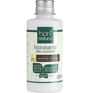 Hidratante Deo Corp Amendoa/Lavanda 250Ml Boni Natural