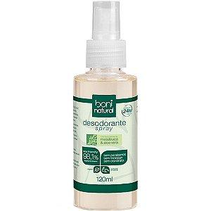 Desodorante Spray Melaleuca/Aloe Vera 120Ml Boni Natural