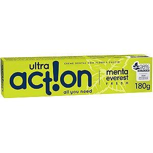 Creme Dental Ultra Action Menta Everest 180G Boni Natural