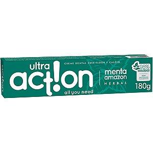 Creme Dental Ultra Action Menta Amazon 180G Boni Natural