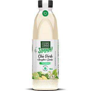 Chá Verde, Limão e Gengibre Zero Pet 900ml Campo Largo