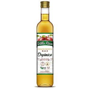 Vinagre De Maçã Orgânico 4,2% 500Ml Villa Rica
