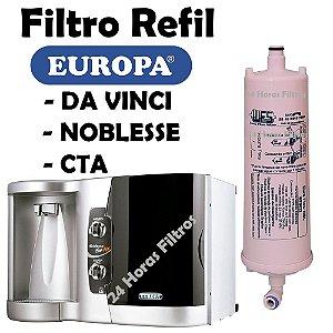 Refil Filtro De Água Europa Flow Nbl Europa Nobless Wfs022