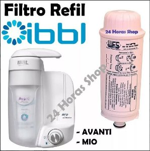 Refil Filtro Purificador De Água Ibbl Avanti E Mio Mod Novo