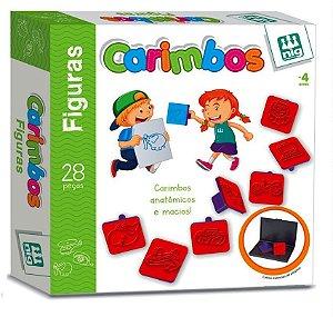 Carimbos  Didáticos De Figuras - 28 Carimbos - Nig