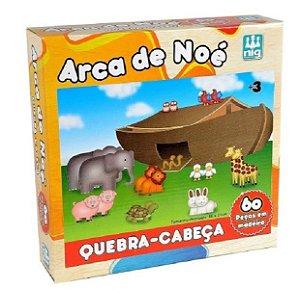 Quebra Cabeça Arca De Noé Em Madeira  - Nig