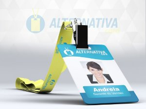 Cracha Personalizado PVC 0,76 mm Personalizado 4/0