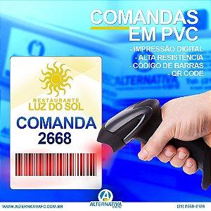 COMANDAS EM PVC PARA BARES E RESTAURANTES